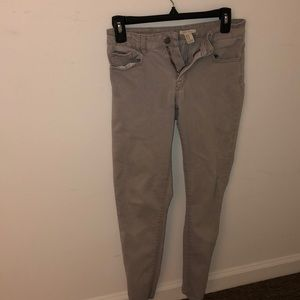 Gray Forever21 Jeans